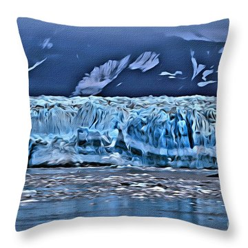 Inside Passage Throw Pillow