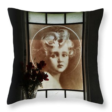 Inside The Crypt Throw Pillow