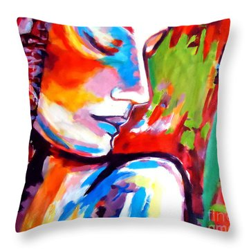 Throw Pillow featuring the painting Insight by Helena Wierzbicki