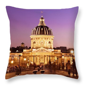 Insitut De France / Paris Throw Pillow