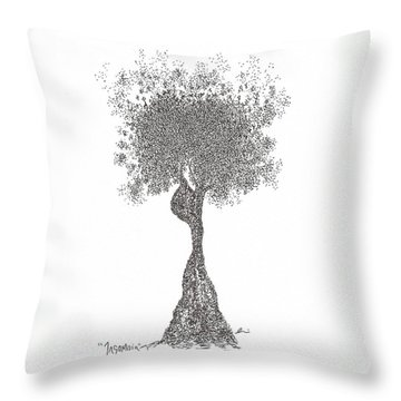 Insomnia Throw Pillow