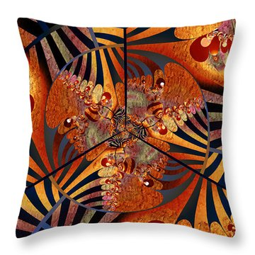 Insomnia Throw Pillow by Kim Redd