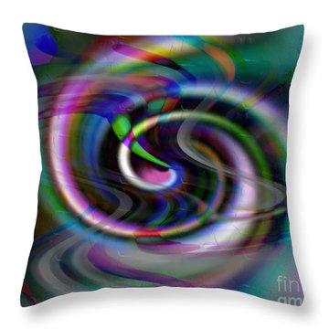 Inspiral Car Throw Pillow