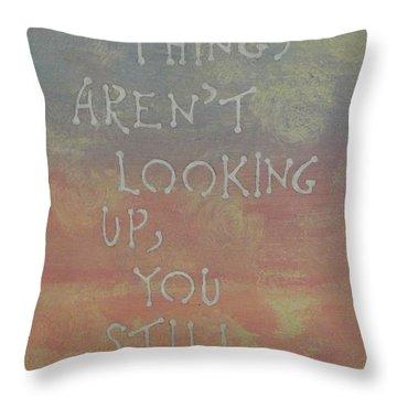 Inspiration I Throw Pillow