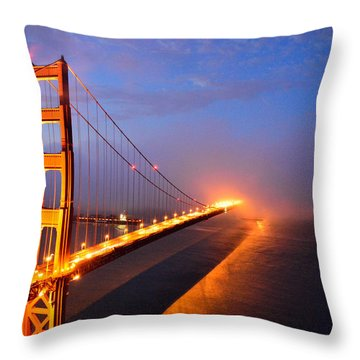 Inspiration  Moved Me Brightly Throw Pillow