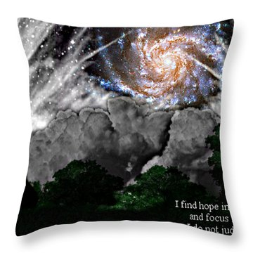 Inspirational #1 Throw Pillow by Thomas OGrady