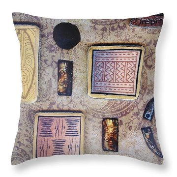 Inspire Collage Throw Pillow