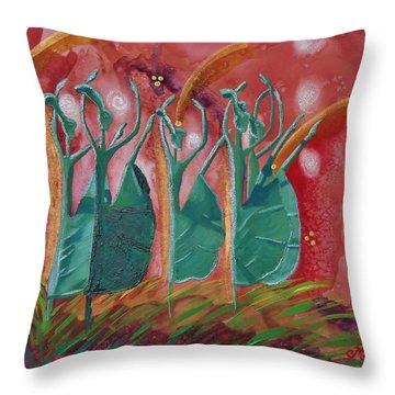 Inspired Dance Throw Pillow