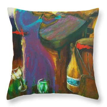 Inspired Songs Throw Pillow