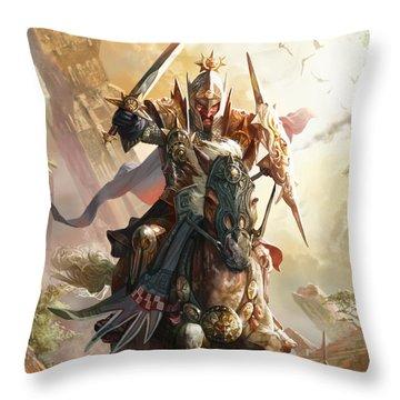 Inspiring Captain Throw Pillow
