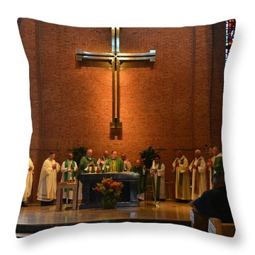 Installation Throw Pillow