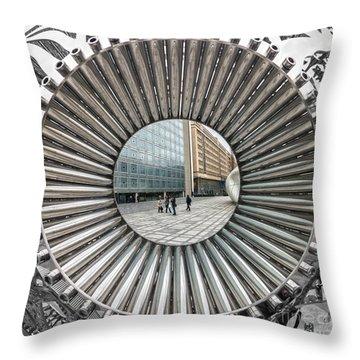 Institut Du Monde Arabe - Paris Throw Pillow