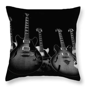 Instrumental Change Throw Pillow