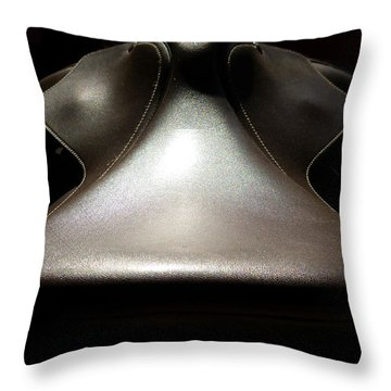 Instrumental Curves Throw Pillow