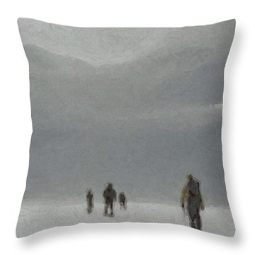Insurmountable Throw Pillow