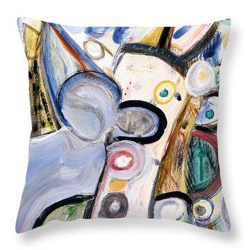 Intellect Throw Pillow