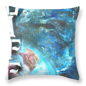 Intelligent Life Throw Pillow