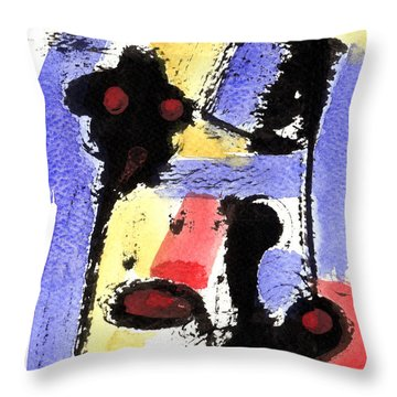 Intense And Purpose 2 Throw Pillow