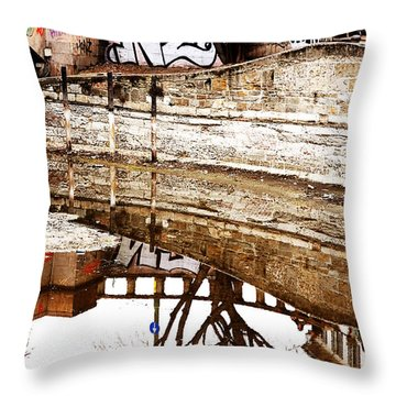 Intense Degrade Throw Pillow by Valentino Visentini