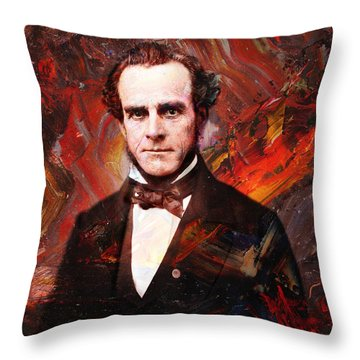 Intense Fellow 2 Throw Pillow