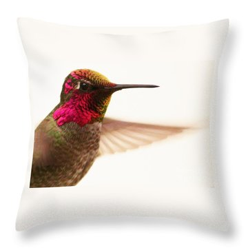 Intense Throw Pillow