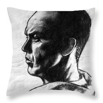 Michael Keaton Throw Pillow