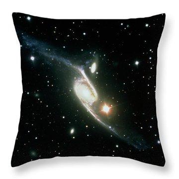 Interacting Galaxies Throw Pillows