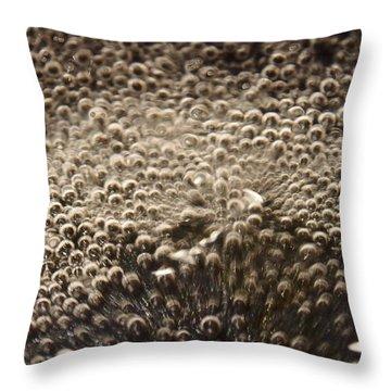 Interaction Throw Pillow by David Pantuso
