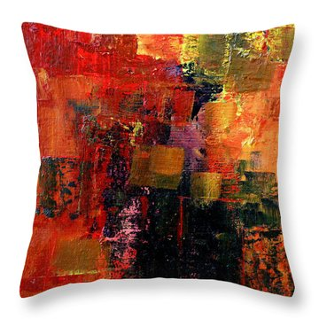 Interaction Throw Pillow by Jim Whalen