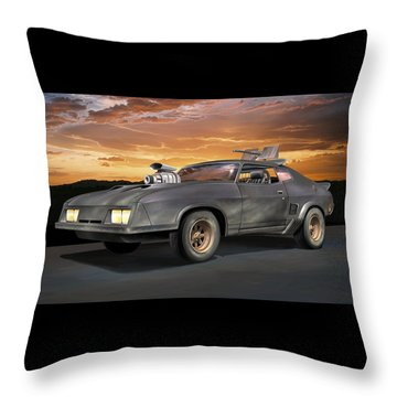 Interceptor II Throw Pillow by Stuart Swartz