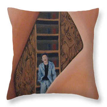 Interesting Spaces Throw Pillow