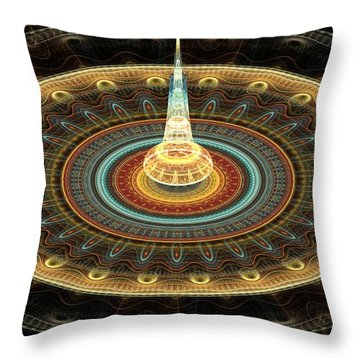 Intergalactic Transmission Throw Pillow