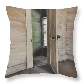 Interior Doorway Throw Pillow by Lindsay Frost