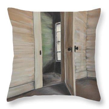 Interior Doorway Throw Pillow