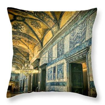 Interior Narthex Throw Pillow