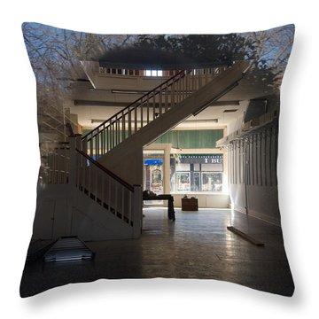 Interior Reflection Throw Pillow by Melinda Fawver