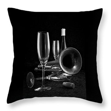 Throw Pillow featuring the photograph Intermission Riff by Elf Evans