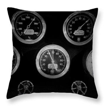 Internal Mechanics Uss Bowfin Pearl Harbor V3 Throw Pillow by Douglas Barnard
