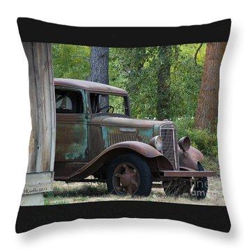 International At Cle Elum Throw Pillow by Jean OKeeffe Macro Abundance Art