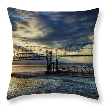 International Blues Throw Pillow