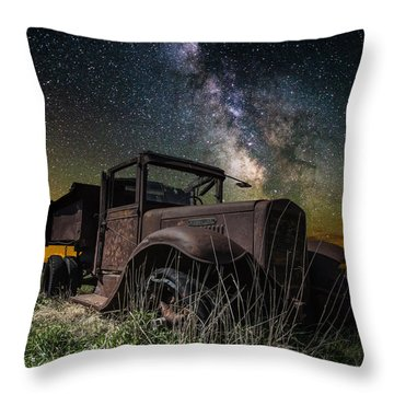 International Milky Way Throw Pillow
