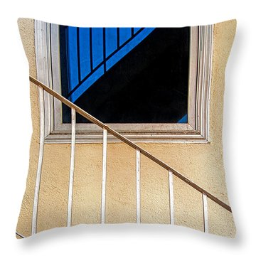 Intersection Of Real And Reflection  Throw Pillow