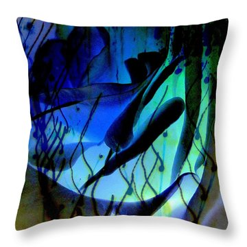 Intervention Throw Pillow by Shirley Sirois