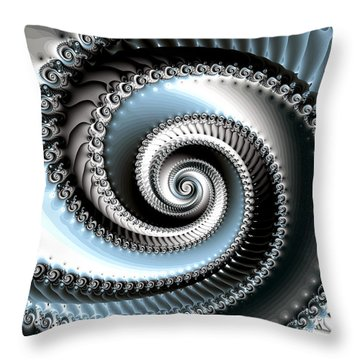 Intervolve Throw Pillow by Kevin Trow