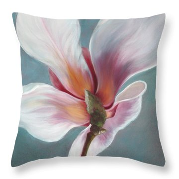 Throw Pillow featuring the painting Intimate Apparel by Sandi Whetzel