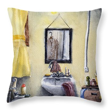 Intimate Disorder Throw Pillow by Dominique Serusier
