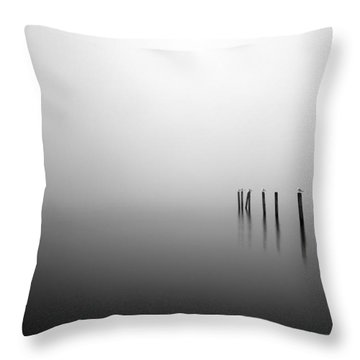 Into The Abyss Throw Pillow by Grant Glendinning