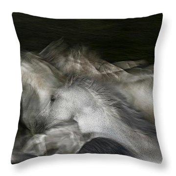 Running Throw Pillows