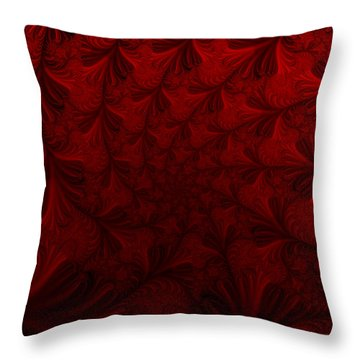 Throw Pillow featuring the digital art Into The Dream by Elizabeth McTaggart