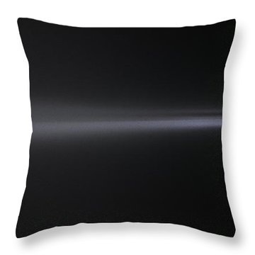 Into The Foggy Night Throw Pillow by Marty Saccone